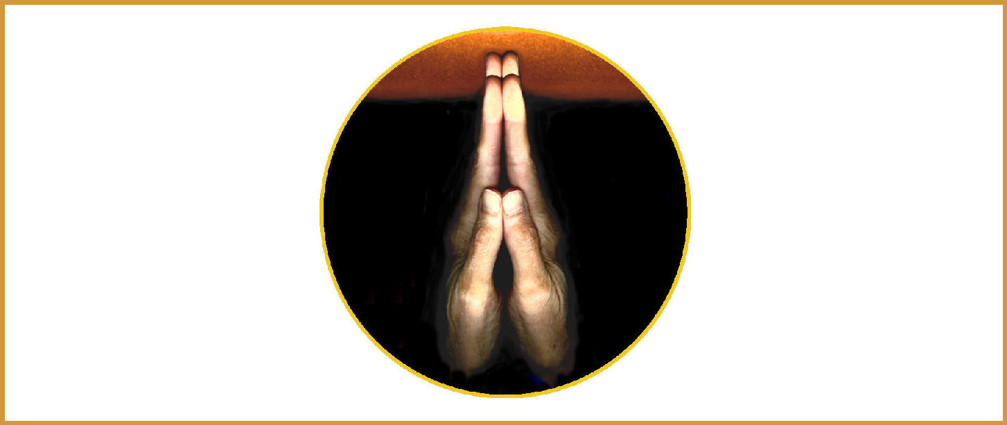 Hands in Prayer Position
